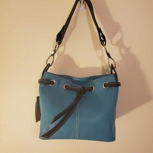 NWT Vera Pelle - Turquoise Italian Leather Purse